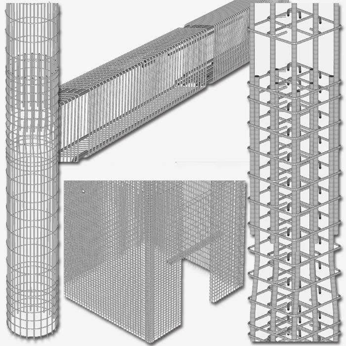 Reinforcement of the floor slab: structural features