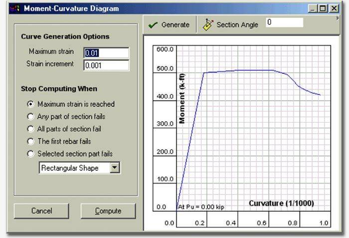 Features Concrete Column Design Software Csicol