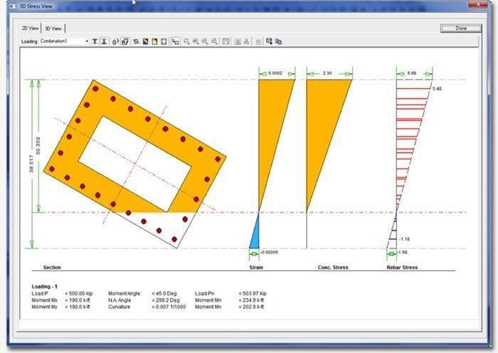 Features | Concrete Column Design Software | CSiCOL