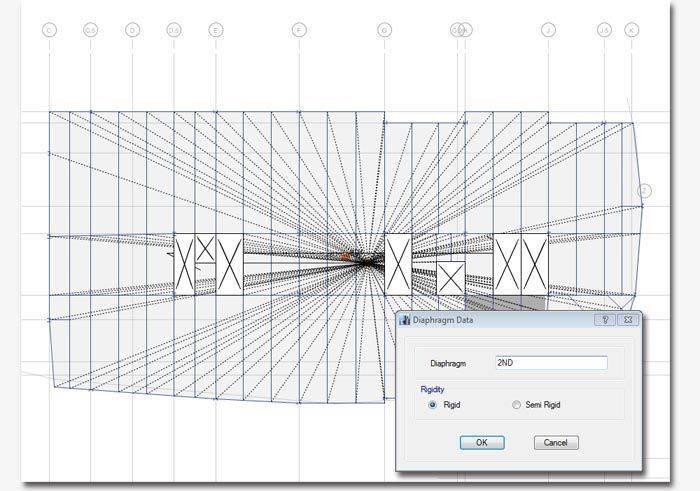 Line Art Floors : Features building analysis and design etabs