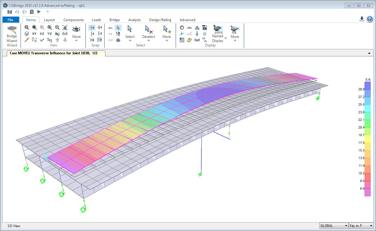 Recent Enhancements Csibridge This Picture Shows A Simple Schematic Of Beam Bridge It Is