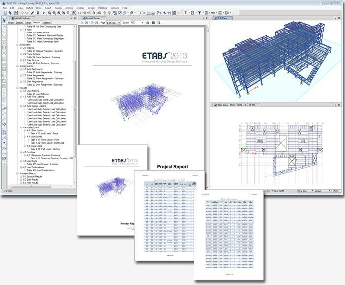 ETABS 2013 INTEGRATED ANALYSIS, DESIGN AND DRAFTING OF