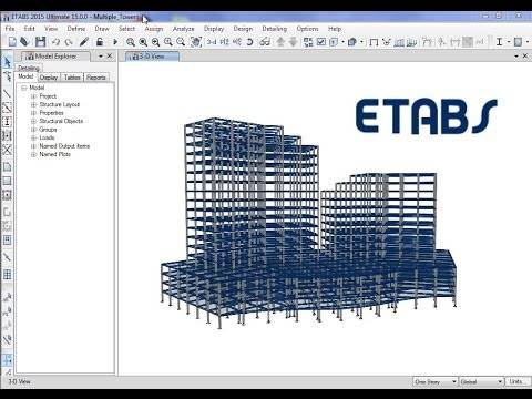 structural software for building analysis and design etabs