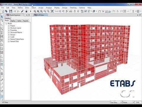 CSi America   Featured Watch And Learn Videos. ETABS   09 Shear Wall Design  And Optimization